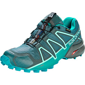 Salomon Speedcross 4 GTX Sko Damer, balsam green/tropical green/beach glass
